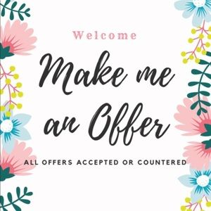Always welcoming offers!